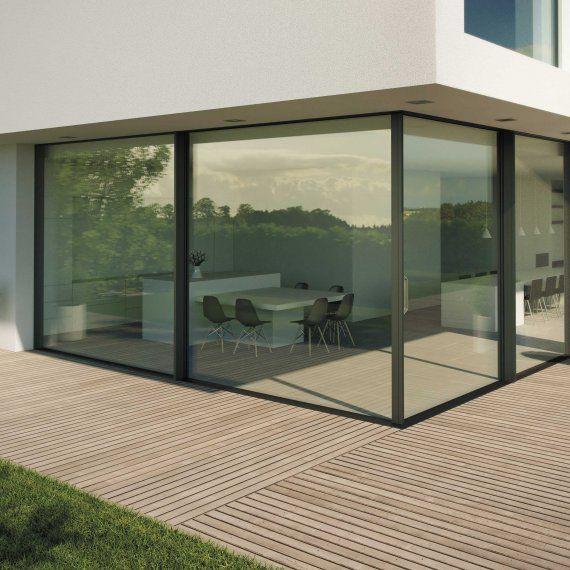 Hi-Finity | Reynaers Aluminium, hoekschuifraam