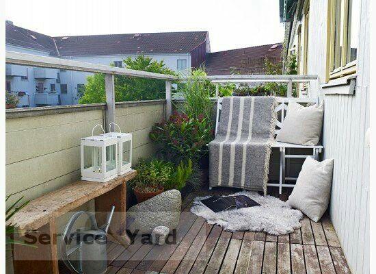 Balkon einrichten modern  101 best Balconies images on Pinterest | Small balconies, Balcony ...