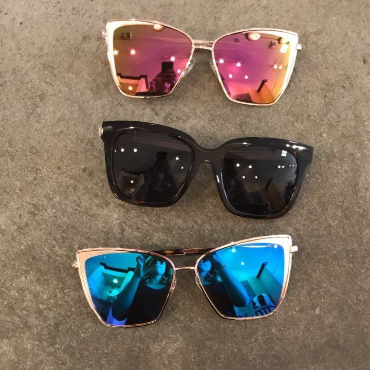 OBSESSED. Three more diff eyewear came in today!!!! More will be coming when they are restocked!   With every purchase of diff, a child in need gets a pair of reading glasses! How cool!!!   #diffeyewear #summer #fall #alwayssunny #newarrivals #wynk #shoplocal #differencemakers #polarizedlens