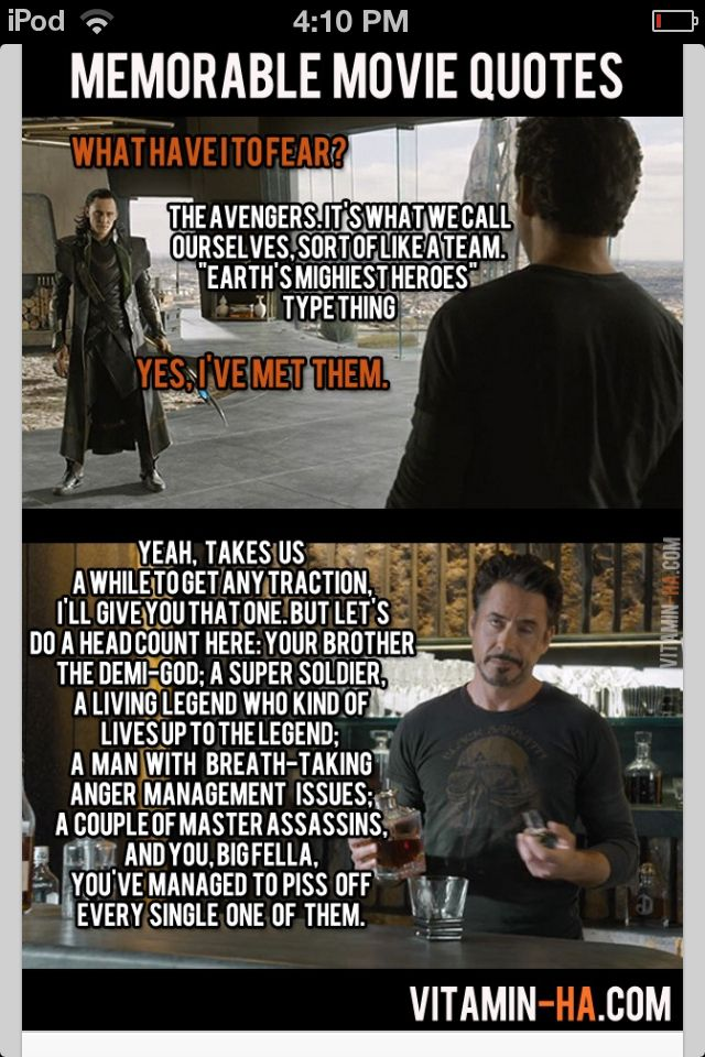 Is it bad that I read this in Tom & RDJ's voices?