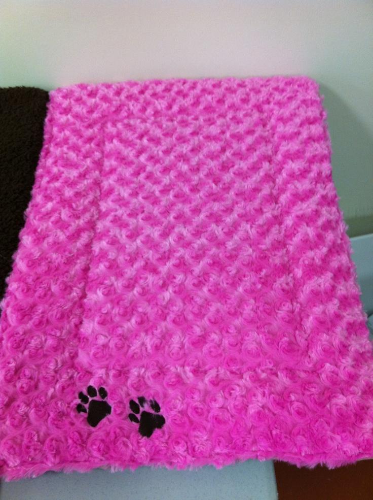 Dog Bed Hot Pink