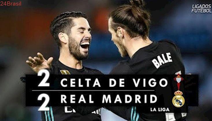 Celta de Vigo 2 x 2 Real Madrid - Melhores Momentos (HD) Campeonato Espanhol 07/01/2018