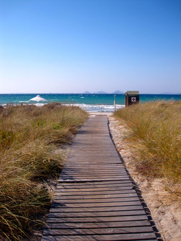 Beach - Path - Kos - Greece