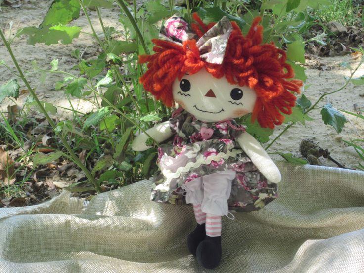Muñeca de trapo estilo Raggedy