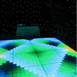 Light up disco dance floors