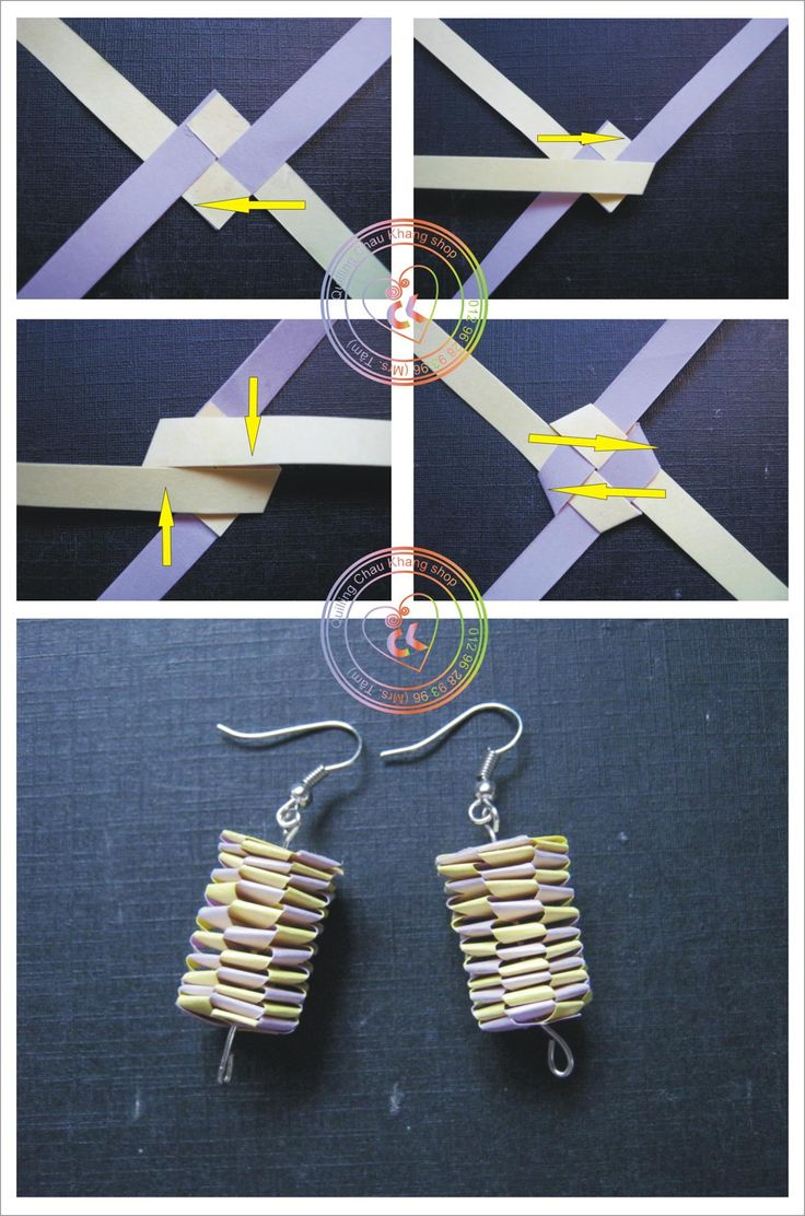 ChauKhangshop Quilling‎ tutorial!