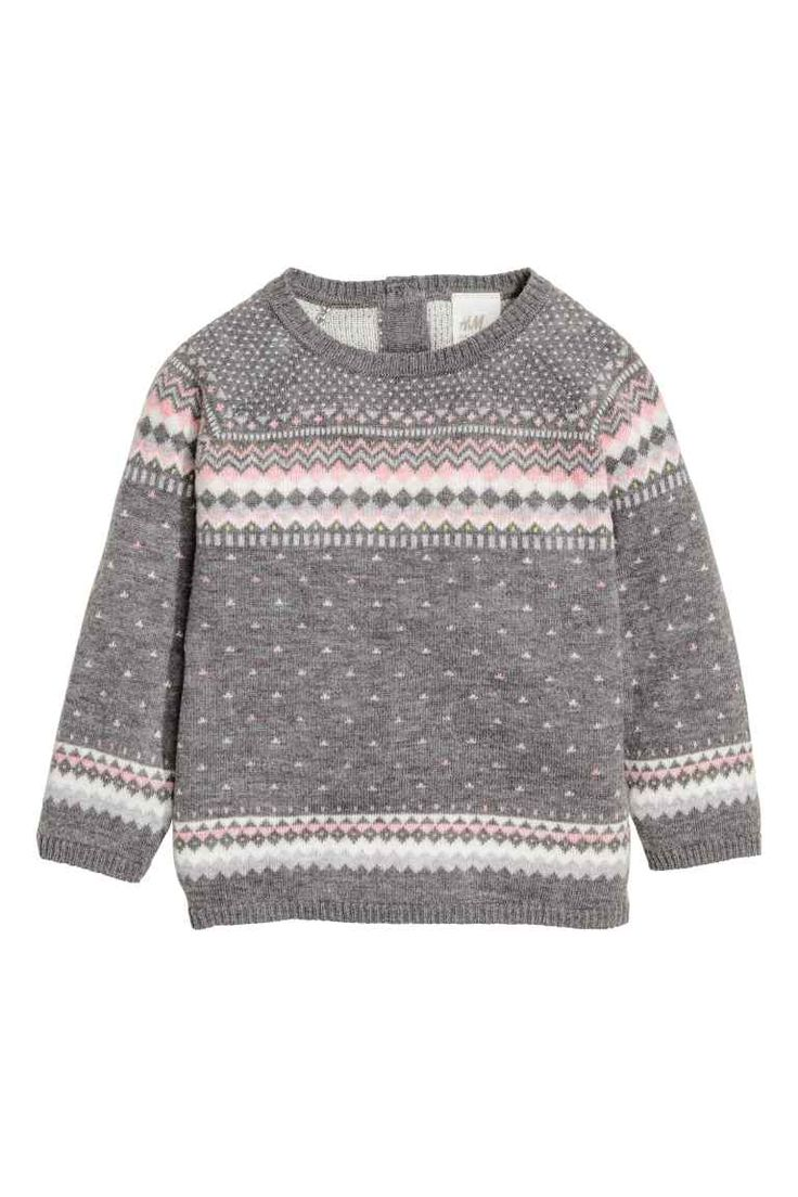 Jacquard-knit jumper | H&M