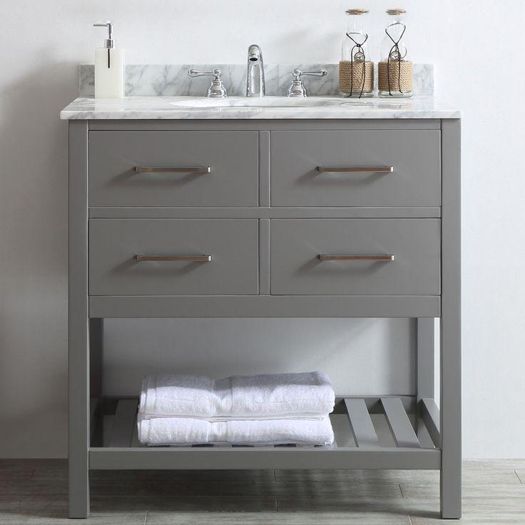 Vinnova Foligno 36 Single Vanity Set AllModern Bathroom Design Inspirations Pinterest