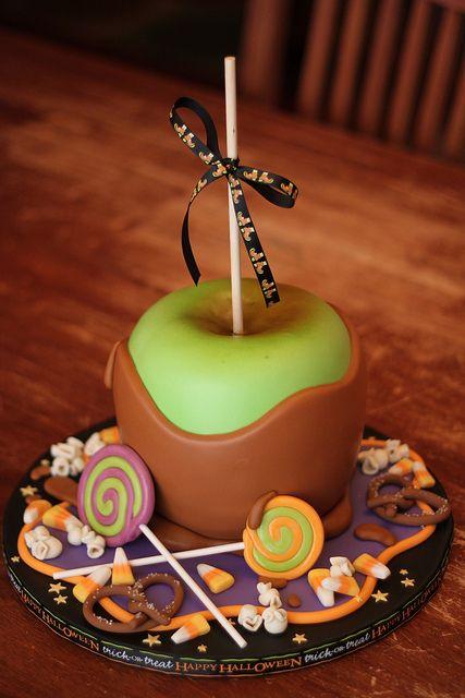 Giant Caramel Apple Cake