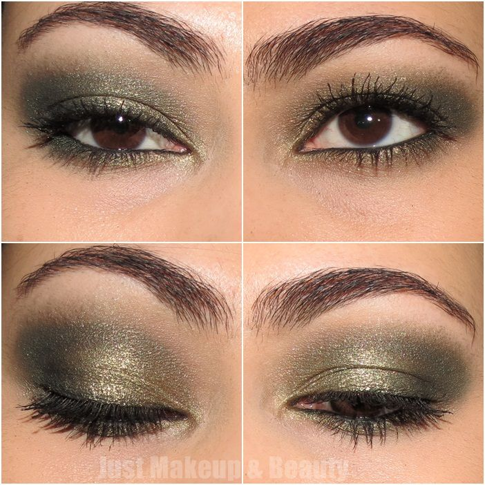 Makeup Look (Christmas Series): Green Sparkle