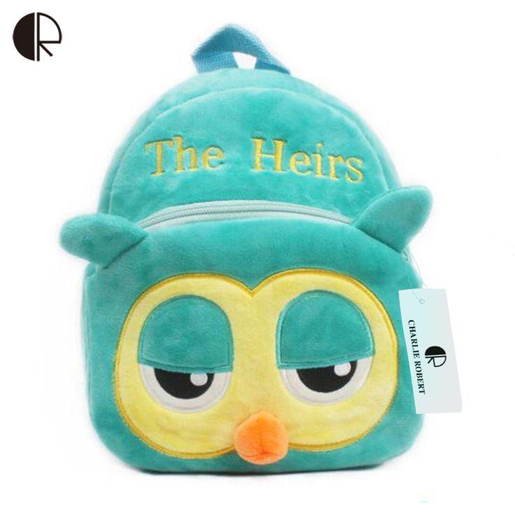 2016 Hot Sale Children Bird School Book Bags Mochila Infantil Baby Toddler Kids Kindergarten Rucksacks BP055