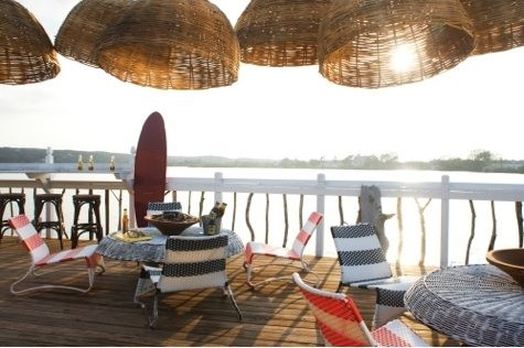 Montauk Surf Lodge is the perfect spot for a sunset cocktail