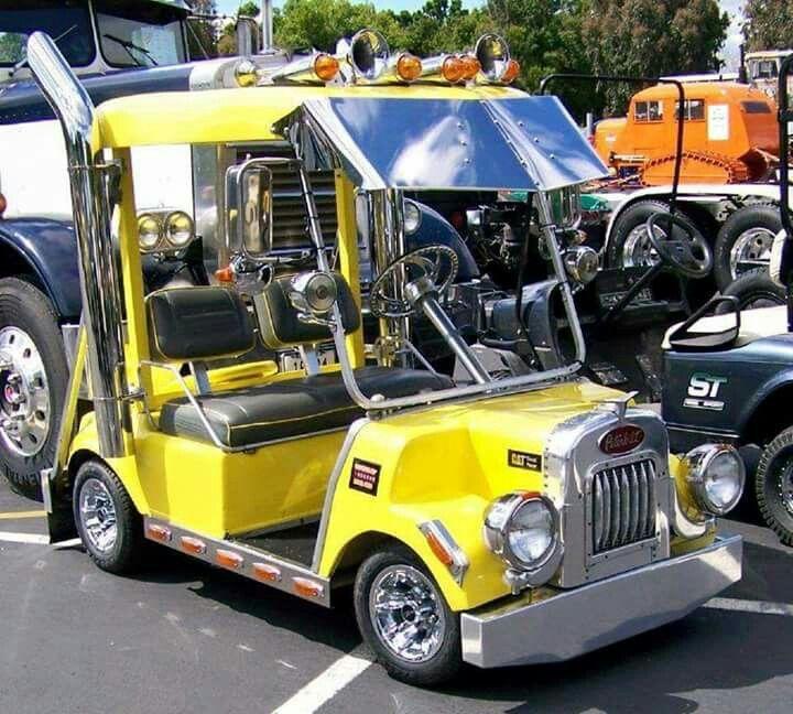 My next golf cart... :-)