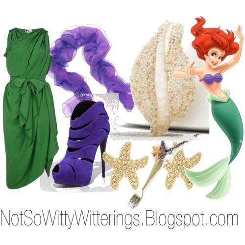 Ariel The Little Mermaid Disney Outfit