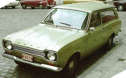 First generation Ford Escort Estate