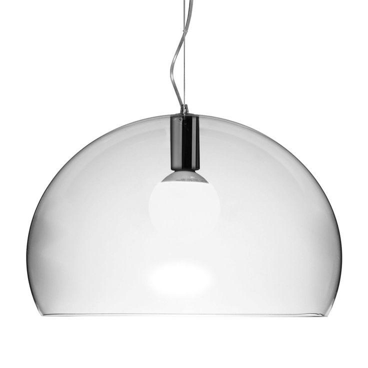 FL/Y taklampa från Kartell, formgiven av Ferruccio Laviani.FL/Y är en snygg lampa från Kartell som ...