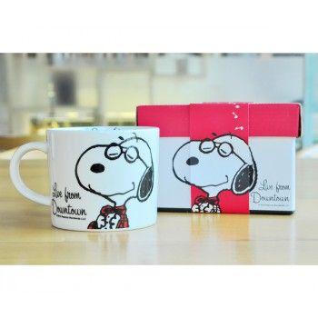 Peanuts Snoopy Mug Porcelain Soup Cup
