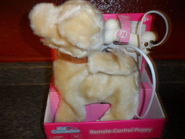 REMOTE CONTROL PUPPY TOY. WALKS AND BARKS. NEW IN PACKAGE #KIDSCONNECTION