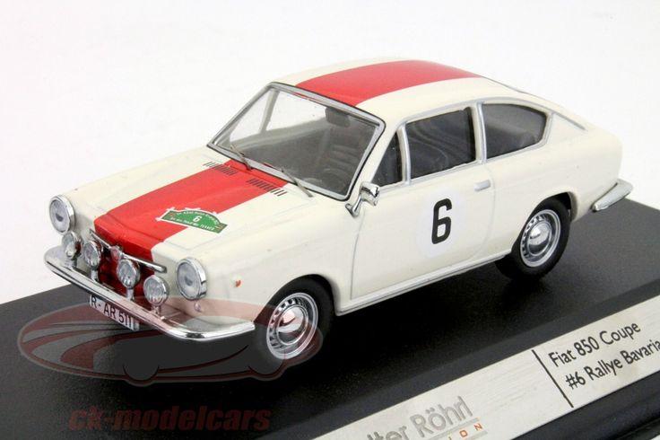 Fiat 850 Coupe, Rally Bavaria 1968, No.6, Walter Rohrl. Ixo, 1/43, Limited Edition 750 pcs. Price (2016): 20 EUR.