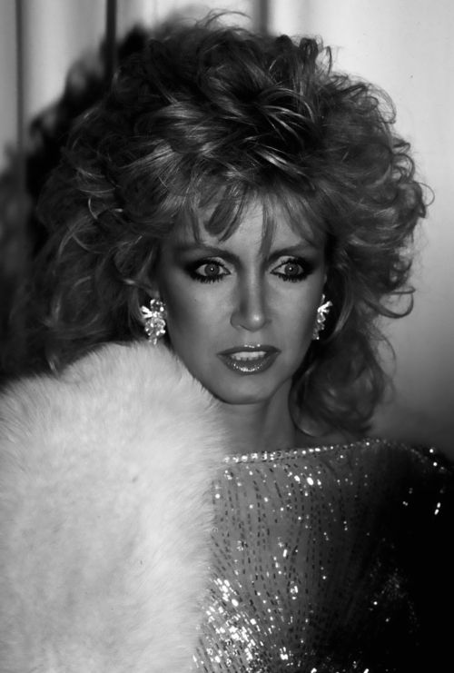 Donna Mills.  80s hair.  Dallas.  Knot's Landing.