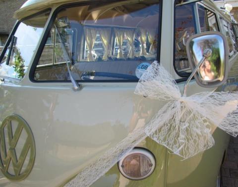 Vintage vdub wedding
