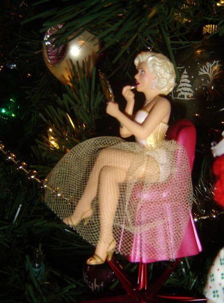 Marilyn Monroe Ornament Marilyn on my Christmas Tree