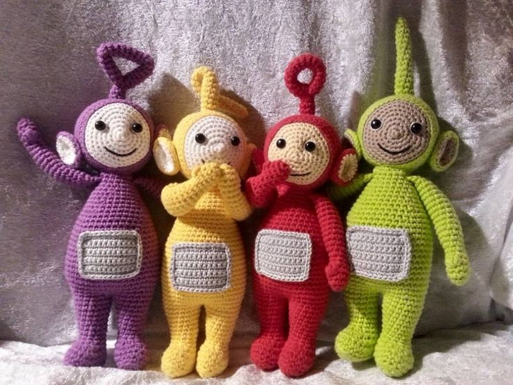 Teletubbies Knitting Pattern : 13 best Teletubbies - DIY! images on Pinterest Amigurumi patterns, Crochet ...