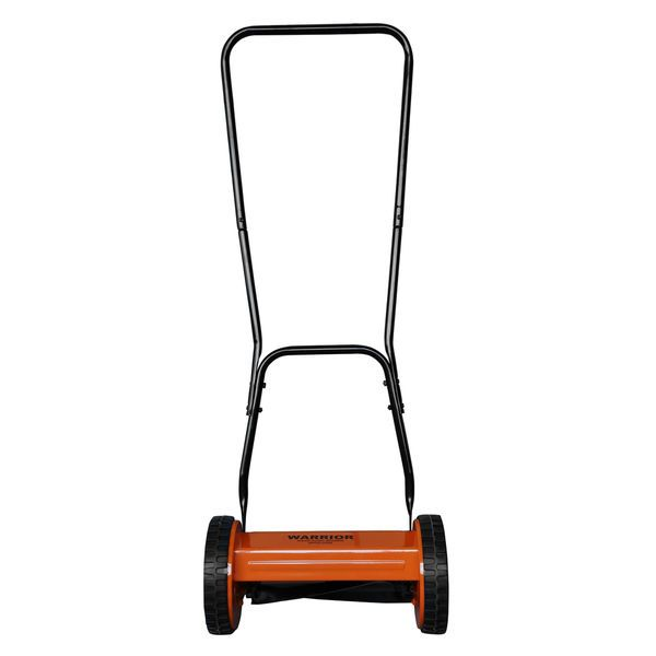 Manual Lawn Mower Push Walk Behind Reel Old Fashioned Vintage Hand Tools Outdoor #Warrior