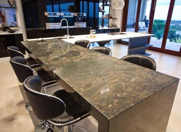 'Infinity' Granite benchtop - Enigma Interiors QLD : Residential Gallery : Gallery : Quantum Quartz, Natural Stone Australia, Kitchen Benchtops, Quartz Surfaces, Tiles, Granite, Marble, Bathroom, Design Renovation Ideas. WK Marble & Granite Pty Ltd Australia.