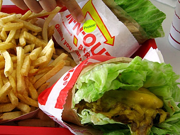 Best low-carb burger: In-N-Out's Double Double with grilled Onion ...