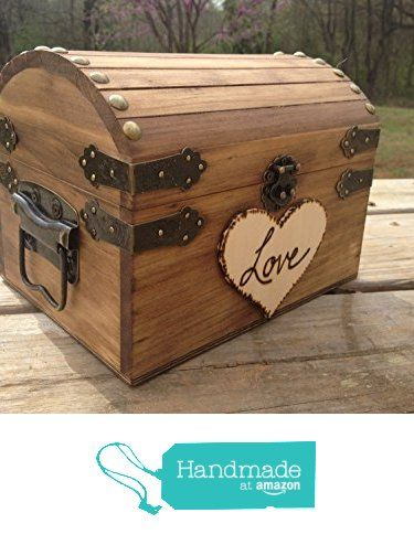 Rustic Wedding Chest - Love Letter Chest - Love Notes Chest - Rustic Wedding - Wishing Tree - Wishing Well Chest - Keepsake Box - Love Box from Country Barn Babe http://www.amazon.com/dp/B01AEU88KY/ref=hnd_sw_r_pi_dp_PD3Zwb17MSEM0 #handmadeatamazon