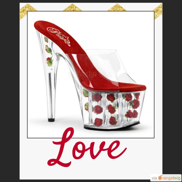 Stunning pair of Pleaser heels perfect for mothers day: www.xtremestilettos.com