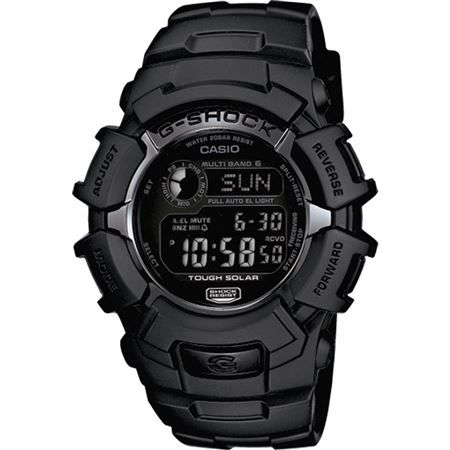 BLACK G SHOCK SOLAR MULTIBAND ATOMIC WATCH | Medals of America