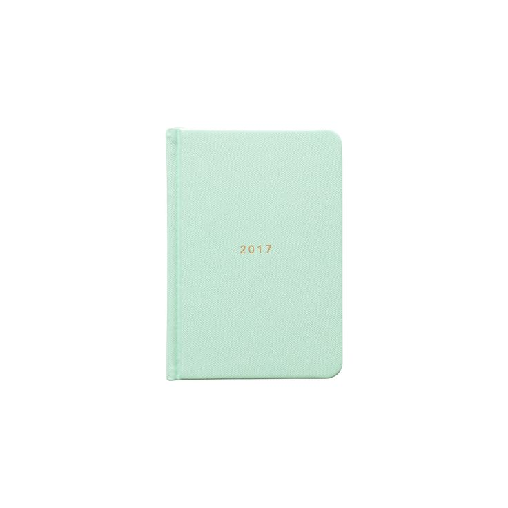 2017 Goals Diary Hard Cover - Mint A6 / $24.95AUD  ------------------------------------------------------------------------ We're on a mission to help you unlock the potential within yourself to dream, plan and take action on the life you want. More than a stationery brand, we're a global community of dream chasers and action takers. @migoals