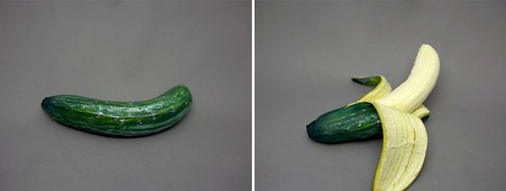 Artist Paints Hyperrealistic Exteriors to Camouflage Food - My Modern Metropolis