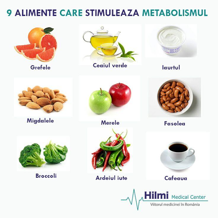 Haideti sa gasim motivatia necesara sa ne schimbam in bine obiceiurile alimentare! Iata o lista cu alimente ce stimuleaza metabolismul!