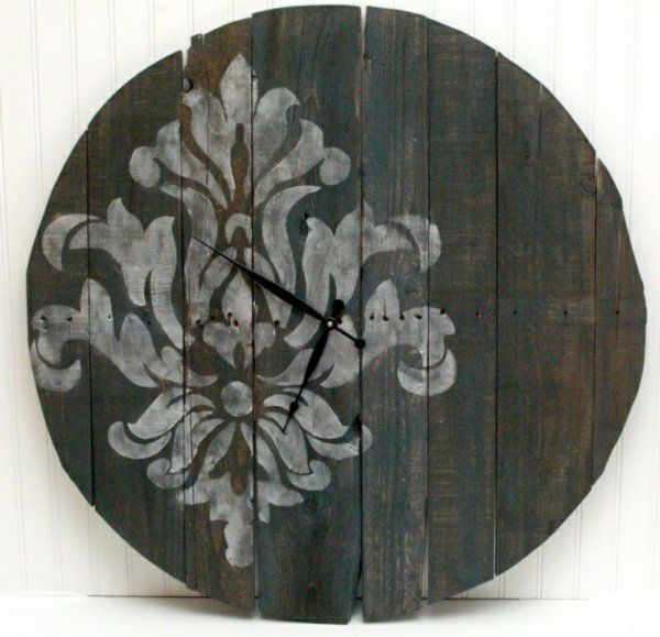 25 best ideas about wanduhr holz on pinterest uhr holz diy uhr and diy uhr. Black Bedroom Furniture Sets. Home Design Ideas