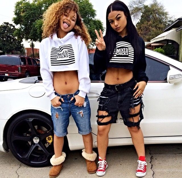 California Black Girl Fashion: India Westbrooks N Her Sister Crystal Baddies