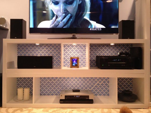 54 best images about cube shelving ideas on pinterest for Expedit tv bench