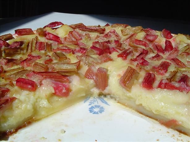 Quick and easy rhubarb custard pie. We made this tonight and it was actually…