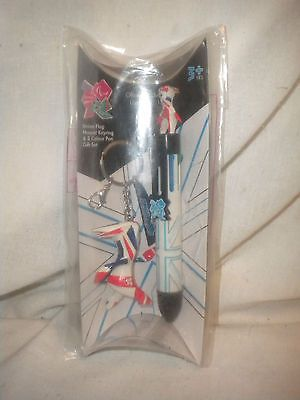 #Olympic collectable london 2012 mascot #wenlock #keyring and pen white,  View more on the LINK: http://www.zeppy.io/product/gb/2/390789716663/