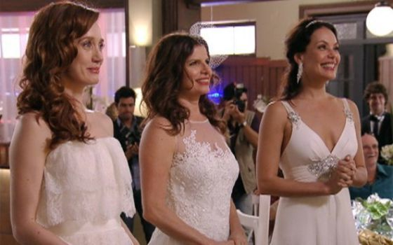 "A notary has ""married"" a trio of women in Río de Janeiro, the second such union that has been recognized before the law in Brazil"