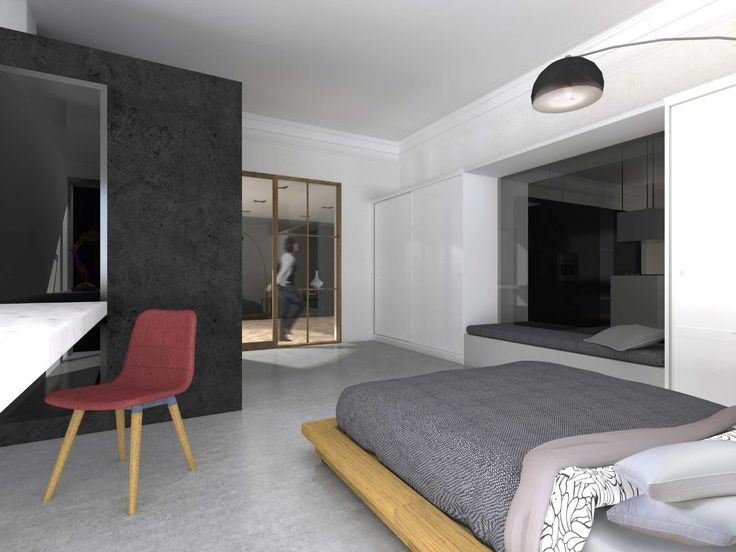 Modern renovation of an old apartment in central Athens.