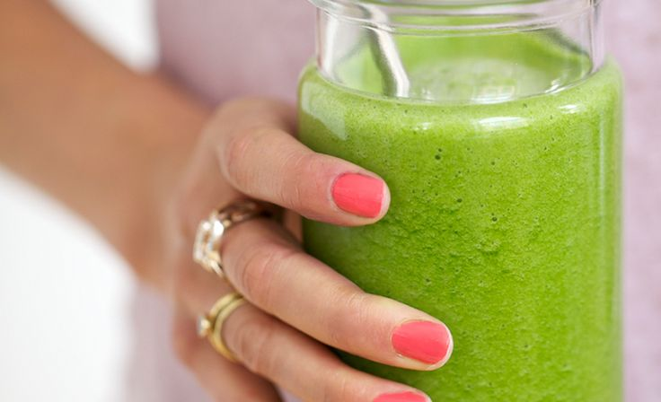 Clean Green Drinks from Candice Kumai