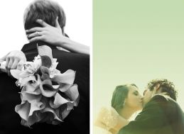 wedding16 #blackandwhitebouquet #romanticembrace #weddingkisses