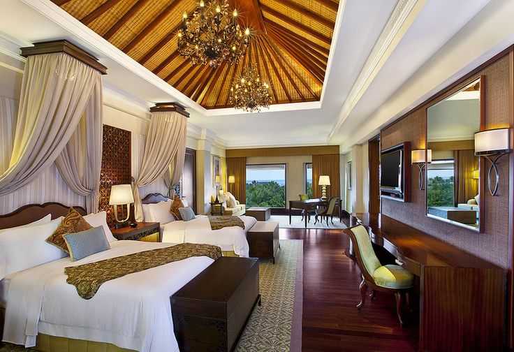 The St. Regis Bali Resort—Grande Astor Presidential Suite - Twin Bedroom | by St. Regis Hotels and Resorts