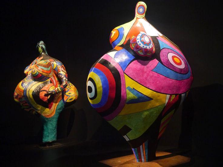 exposition Niki de Saint Phalle, Nanas