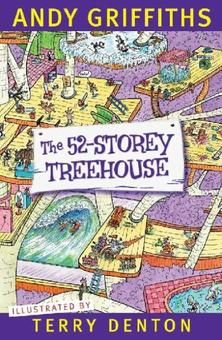 The 52-Storey Treehouse Andy and Terry's incredible, ever-expanding treehouse has 13 new storeys, including a watermelon-smashing level, a wave machine, a life-size snakes and ladders game (with real ladders and real snakes), a rocket-powered carrot-launcher, a Ninja Snail Training Academy and a high-tech detective agency with all the latest high-tech detective technology, which is lucky because they have a BIG mystery to solve - where is Mr Big Nose???