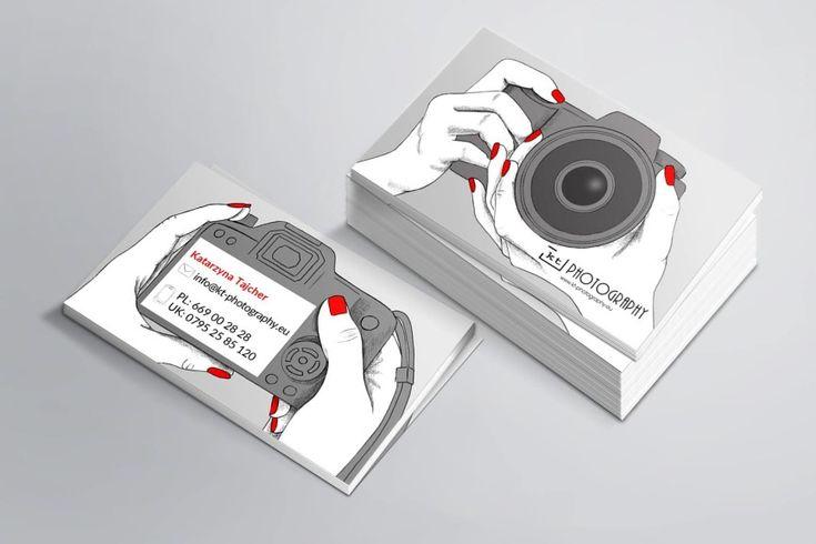 Wizytówka dla fotografki #businesscard #business #creative #photograph #wizytówka #projekt