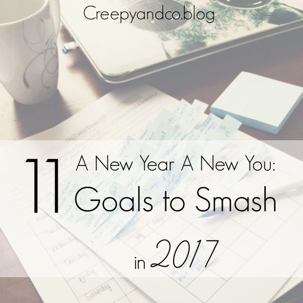 """Its now January 2017 and its the ideal time for me to share with you my goals for my online business Creepy & Co and myself for the next 12 months ahead.  When I was brainstorming what I was going to post about this year I originally had this post as """"Hopes & Dreams"""", but when I label things like that, that's all I tend to do.  I hope things would happen and dream of what things could be like and that's where it stops."""